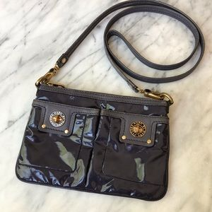 Marc Jacobs turn lock patent leather crossbody